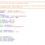 avec la fonction highlight-file()