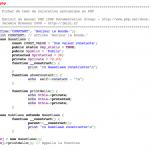 Coloration dans PHPaintCode